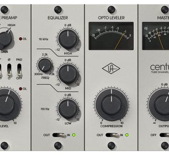 UAD Century Tube Channel Strip universal audio software plug-in