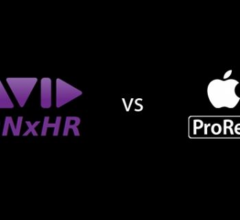 avid dnxhr codec apple video support