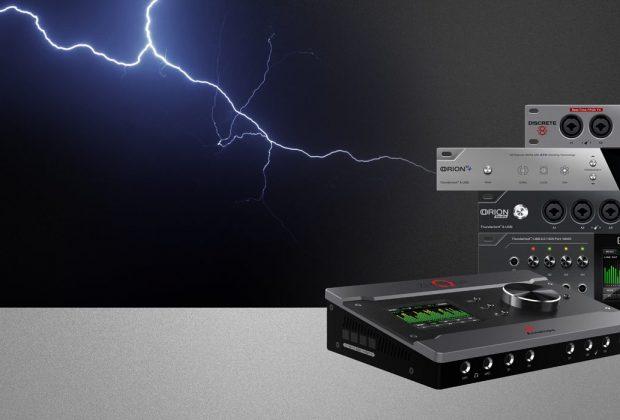 Antelope Thunderbolt Windows audio interface rec mix hardware audiofader