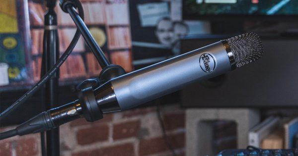 Blue Ember mic studio pro audio condensatore condenser audiofader