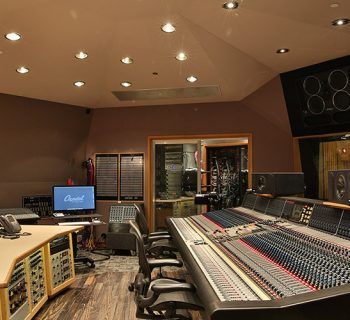Capitol studio B news studio pro rec mix analog hardware pmc speaker audiofader