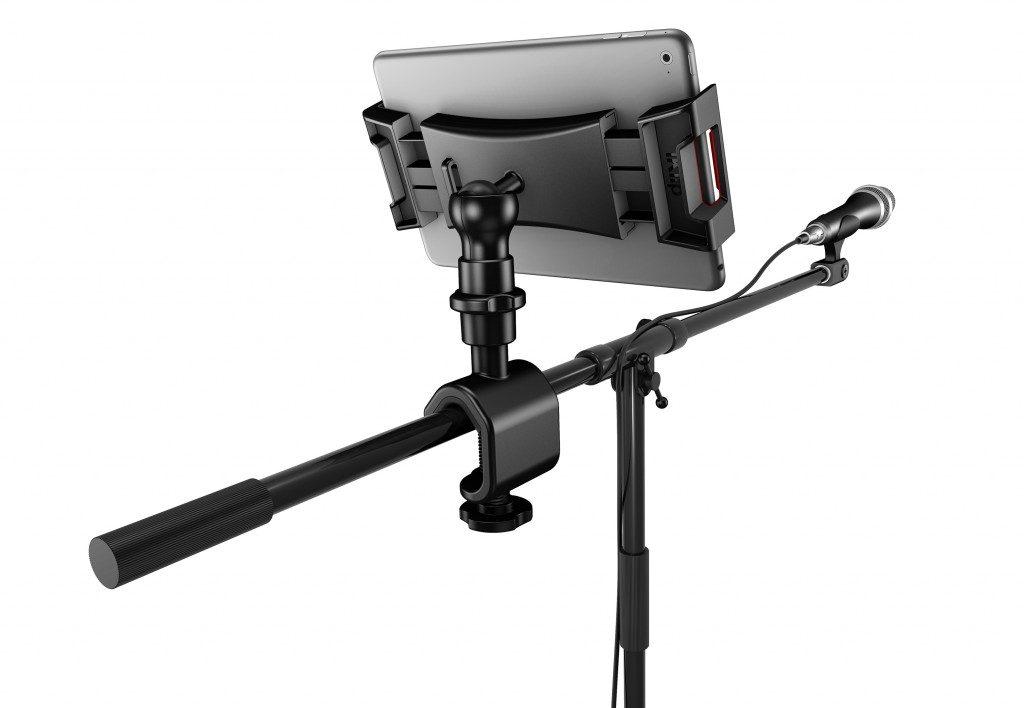 Ik Multimedia iKlip 3 mogar music supporto mic studio live tablet