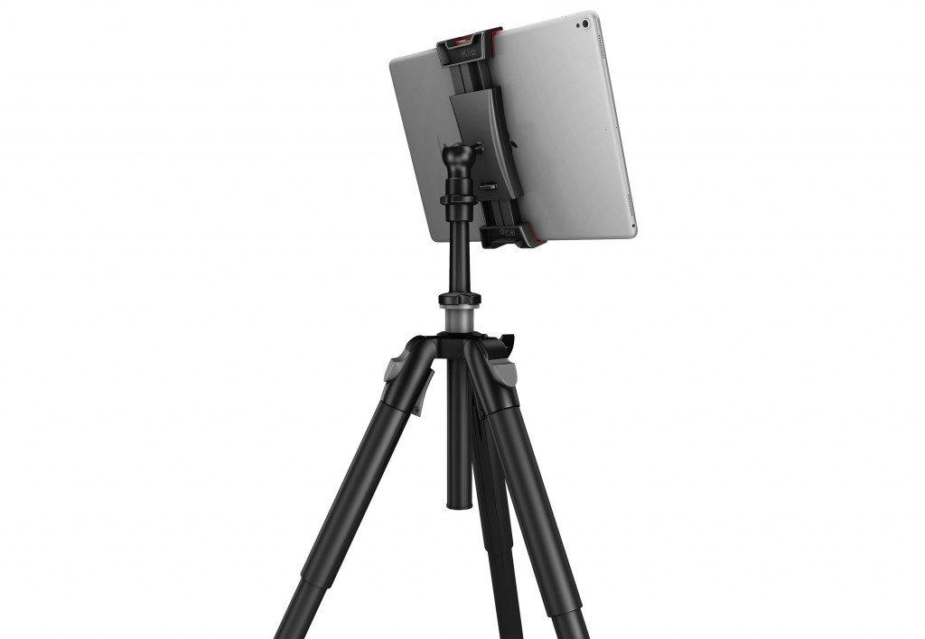 Ik Multimedia iKlip 3 video mogar music supporto mic studio live tablet