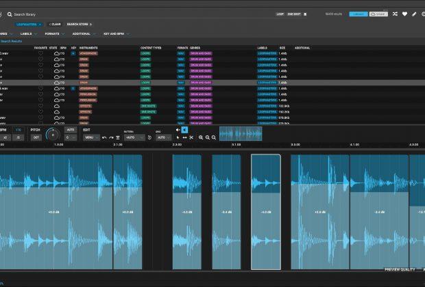 Loopcloud 4.0 loopmasters library sample loop dj producer performer performance audiofader
