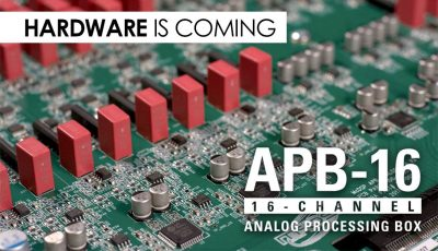 McDSP APB-16 hardware analog processing box audiofader