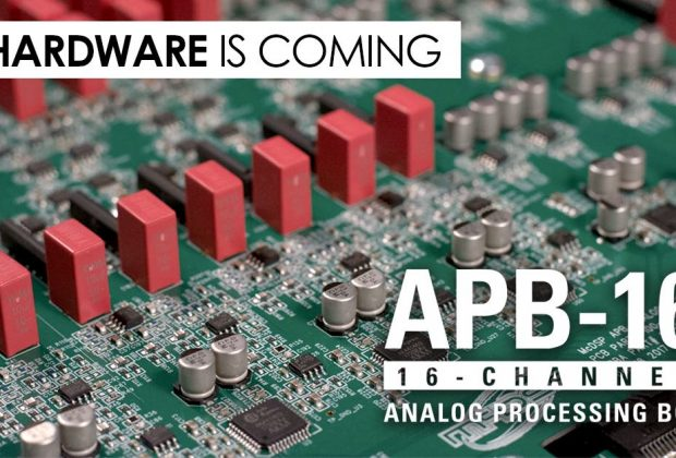 McDSP APB-16 hardware analog processing box audiofader
