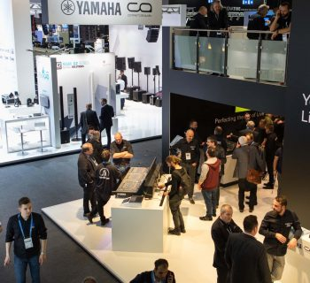 Musikmesse Prolight+Sound Yamaha eventi frankfurt francoforte fiera audiofader