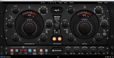 SPL Iron plug-in mastering audio pro software DAW comp compressor audiofader