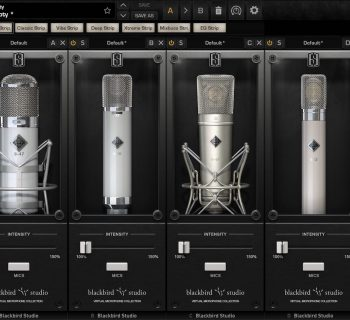 Slate Digital VMS Blackbird Mics plug-in virtual microphone system software daw audiofader