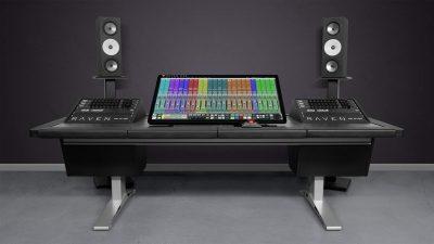 Slate Pro Audio Raven MTZ monitor touch screen mix rec master edit audio pro digiland audiofader