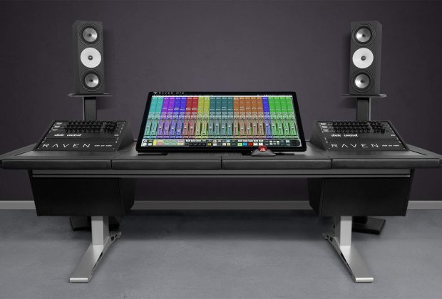 Slate Pro Audio Raven MTZ monitor touch screen mix rec master edit audio pro digiland audiofader