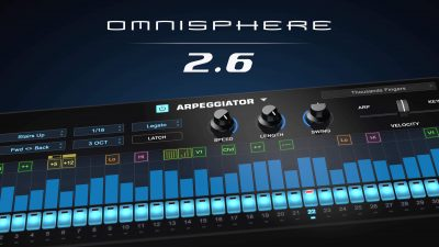 Spectrasonics Omnisphere update v2.6 aggiornamento virtual instrument synth sintetizzatore namm show 2019 software music production audiofader