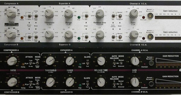 Valley People 610 hardware outboard comp VCA analog studio pro audiofader