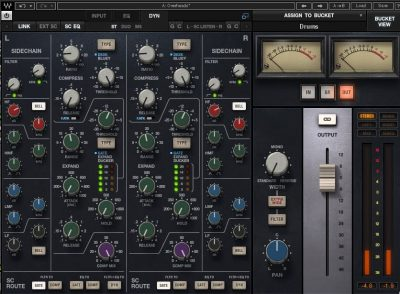 Waves CLA MixHub plug-in audio software virtual mix processing daw itb audiofader