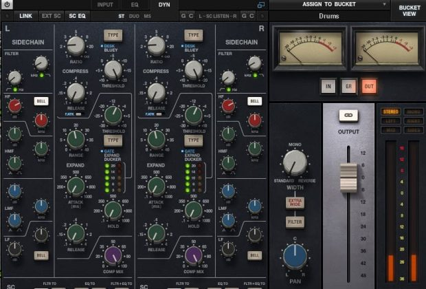 Waves CLA MixHub plug-in audio software virtual mix processing daw itb audiofader