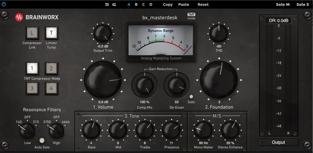 bx_masterdesk uad universal audio plug-in mastering virtual brainworx pro