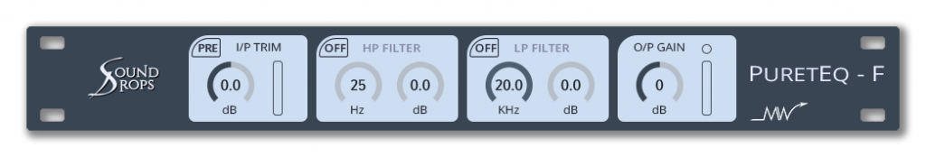Acustica Audio Pureteq virtual plug-in audio tool software daw nebula audiofader