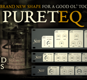 Acustica Audio Pureteq virtual plug-in audio tool software daw nebula audiofader