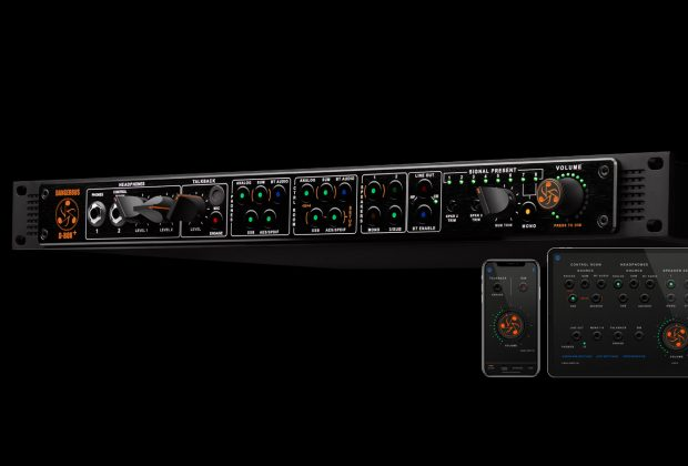 Dangerous Music dbox+ sommatore hardware outboard mobile audiofader