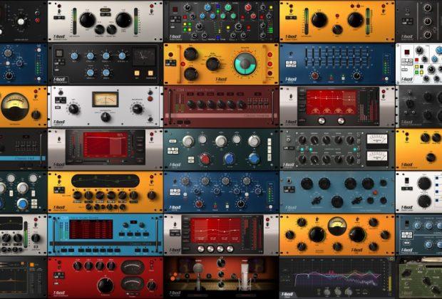 Ik Multimedia T-RackS custom shop plug-in audio software itb virtual mix master audiofader