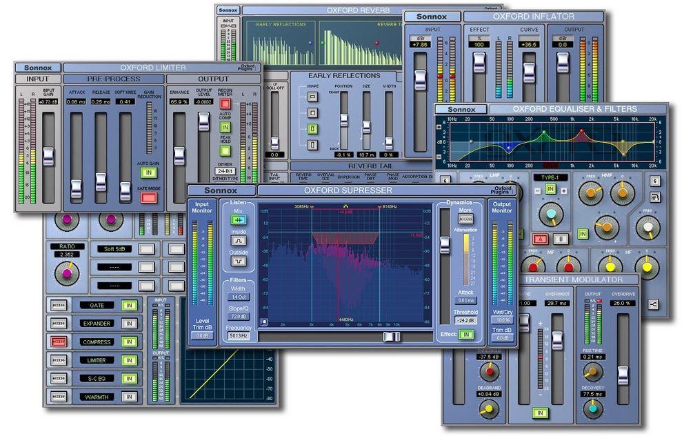 Sonnox iLok Cloud plug-in audiofader