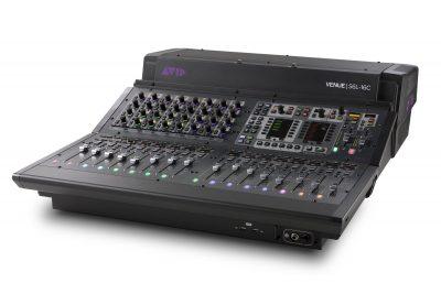 Avid S6L-16C venue live console hardware audiofader