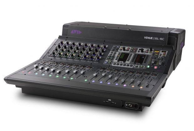 Avid S6L-16C venue live console hardware audiofader