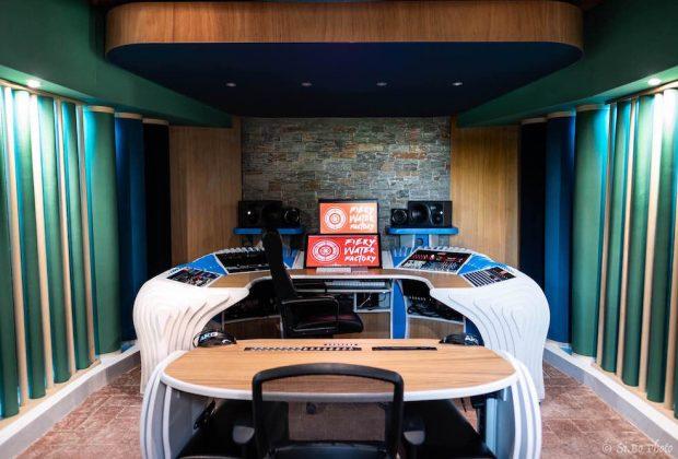 Fiery Water studio rec mix mastering acustica audiofader
