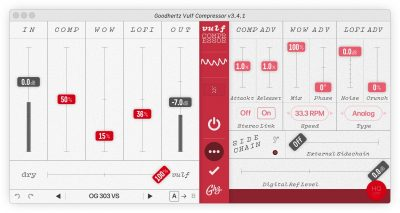 Goodhertz Vulf Compressor plug-in audio pro mix daw itb software test audiofader