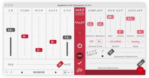 Goodhertz Vulf Compressor plug-in audio pro mix daw itb software test audiofader