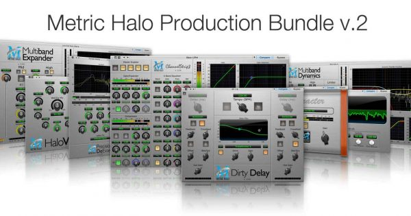 Metric Halo Production Bundle daw software plug-in processing itb audiofader