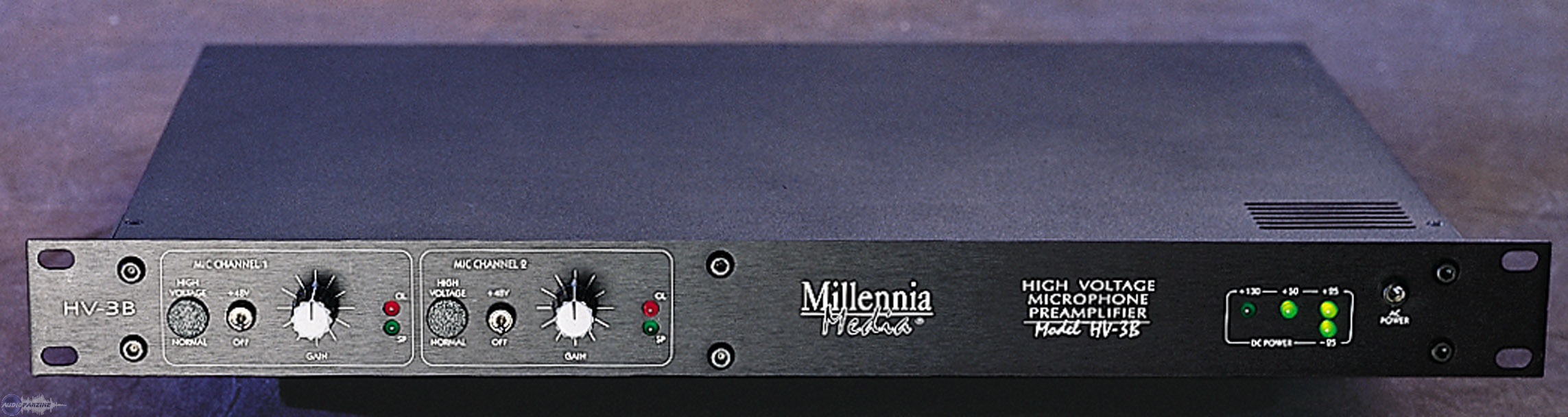 Millennia  HV-3B hardware analog outboard pre mix master audiofader