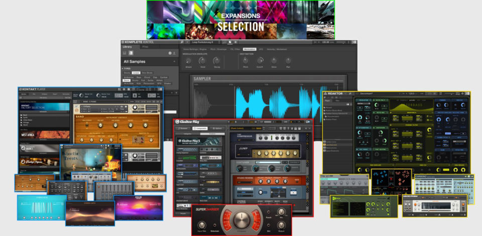 NI Komplete Start native instruments virtual instrument plug-in fx gratis free freeware audiofader