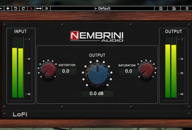 Nembrini LoFi plug-in free gratis freeware mix pro audio audiofader