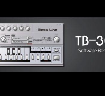 RolandCloud TB-303 virtual instrument roland prod bass synth strumenti musicali