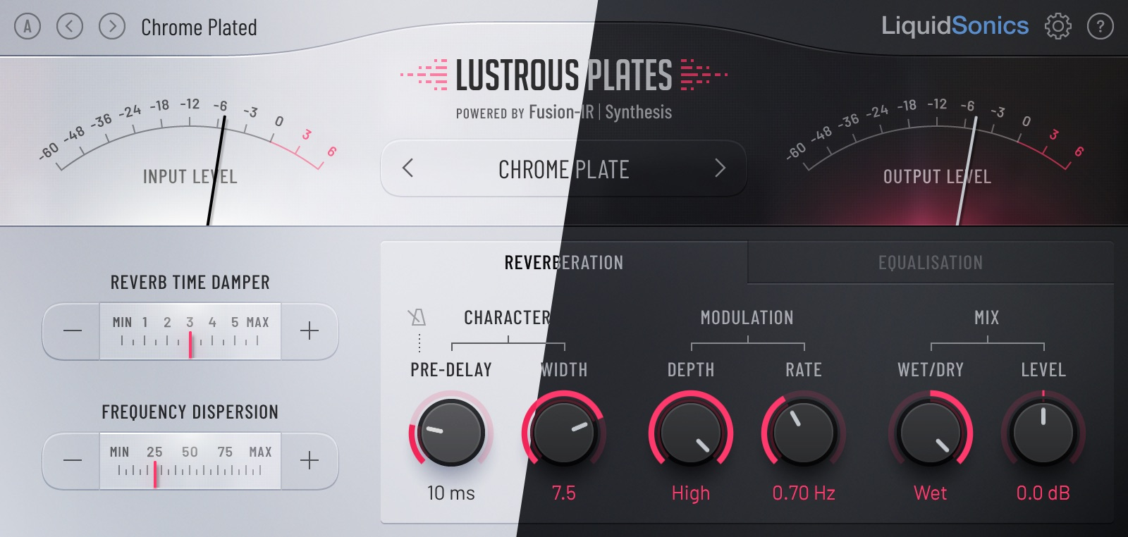 Slate Digital Lustrous Plates plug-in audio mix reverb fx audiofader