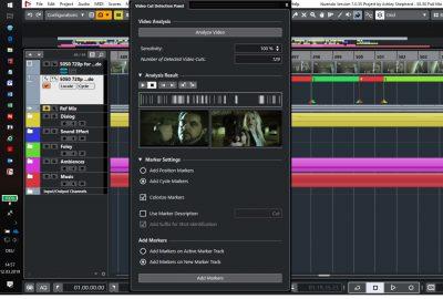 Steinberg Nuendo 10 DAW post produzione game audio software audiofader