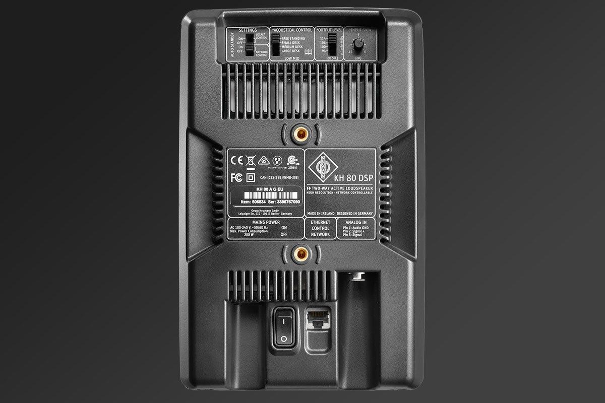 test Neumann KH 80 DSP exhibo monitor pro speaker near field audio studio rec mix master audiofader