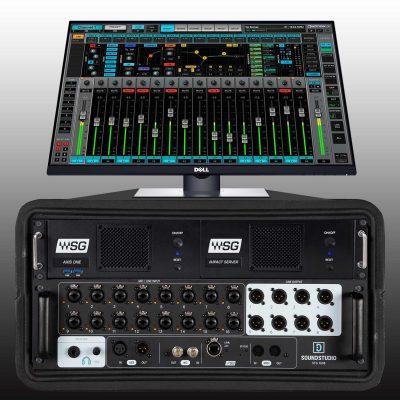 Waves Emotion LV1 complete mixing system hardware digital soundgrid audiofader