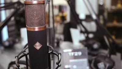 telefunen alchemy mic tube valvolare tf funky junk audiofader
