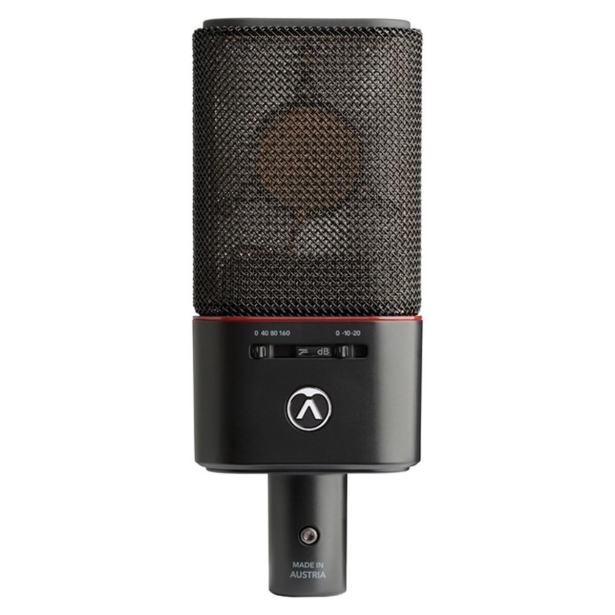Austrian Audio OC18 studio rec mic hardware analog tube valvola audiofader
