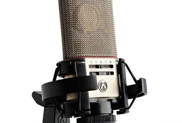 Austrian Audio OC818 studio rec mic hardware analog tube valvola audiofader