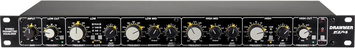 Drawmer 1974 outboard hardware eq parametric leading technologies audiofader