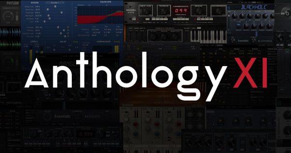 Eventide Anthology XI plug-in audio bundle software daw test audiofader