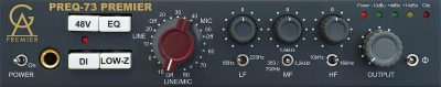 Golden Age PreQ 73 Premier hardware pre studio audiofader