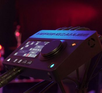 Merging Technologies Anubis interfaccia audio pro audiofader