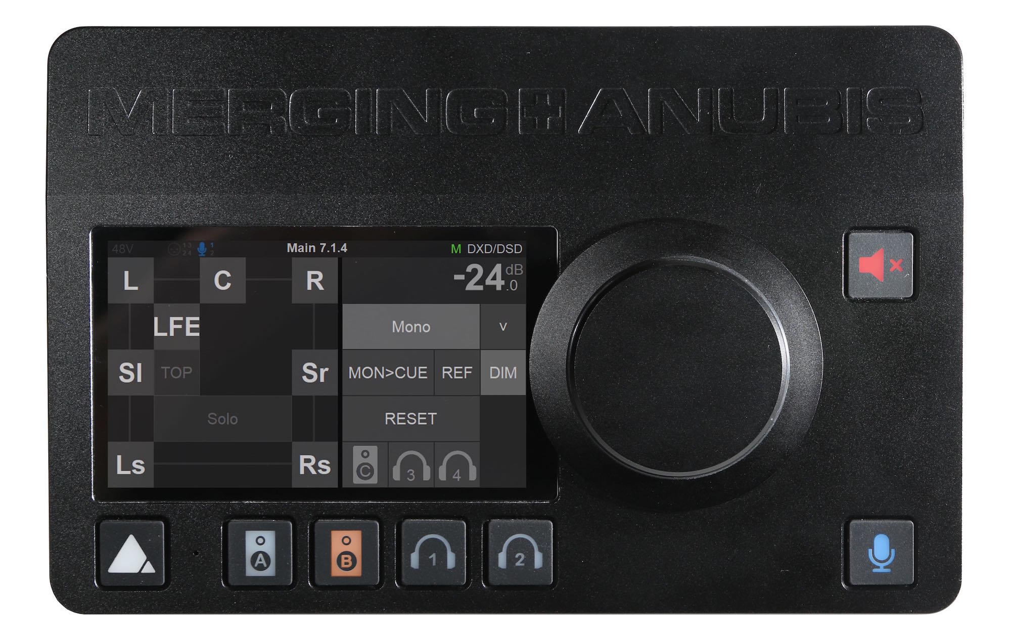 Merging Technologies Anubis interfaccia audio pro audiofader