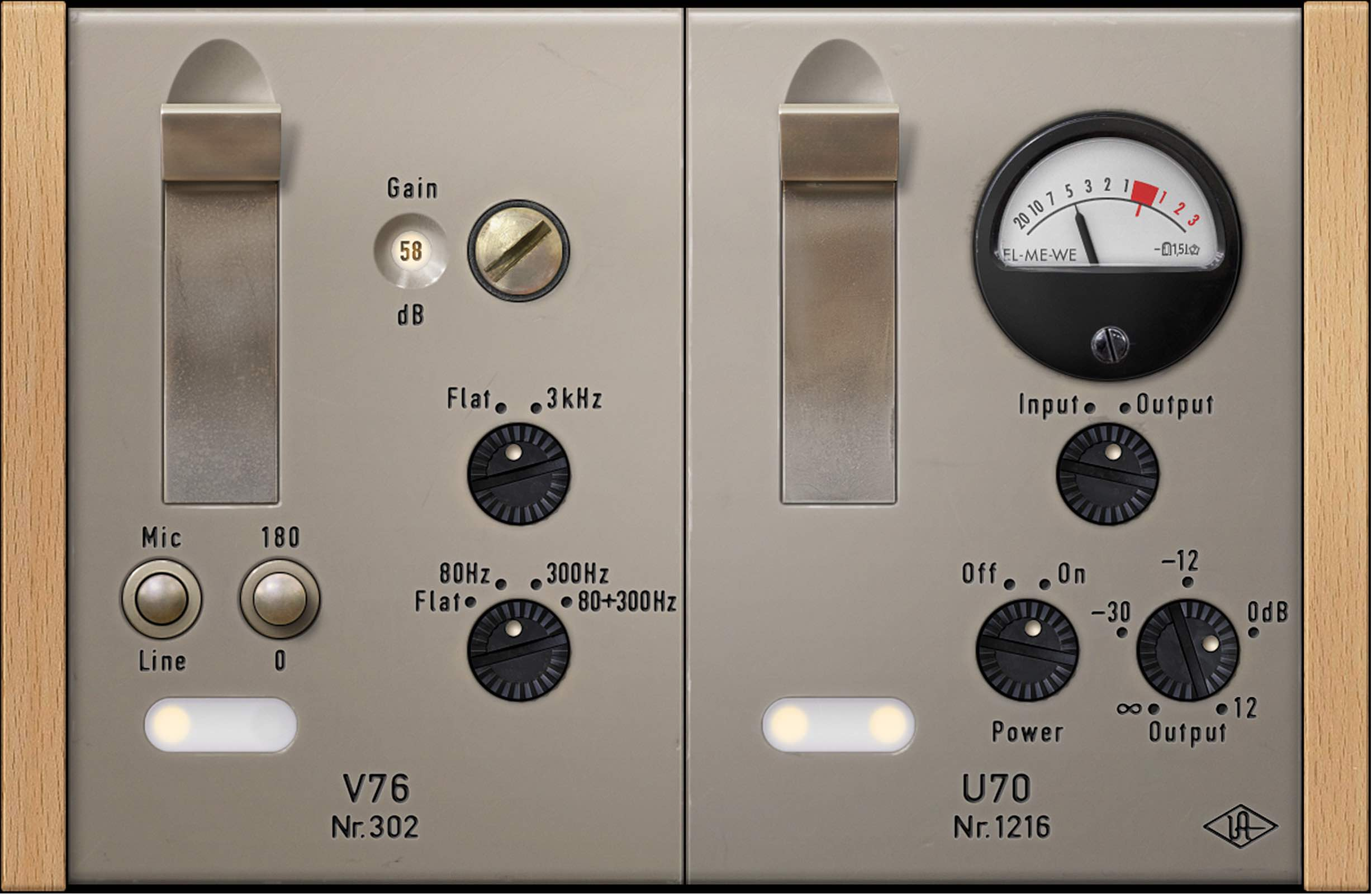 UAD V76 software universal audio daw preamp test audiofader