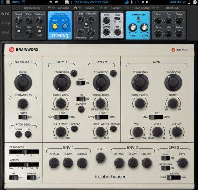 brainworx bx_oberhausen virtual instrument synth oberheim plugin alliance audiofader