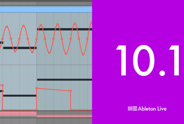 Ableton live 10.1 daw software producer update aggiornamento tutorial test audiofader